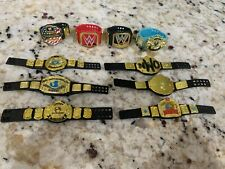 WWE Mattel Elite Championship Title Belt Lot For Wrestling Figures NWO
