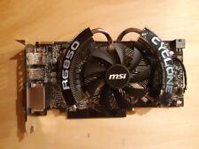 MSI ATI Radeon HD 6850 Cyclone 1 GB Graphics card - FAULTY