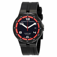 Porsche Design P'6351 Flat Six Black Dial Automatic Men's Watch 6351.43.44.1254