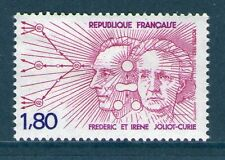 TIMBRE 2218 NEUF XX LUXE - FREDERIC ET IRENE JOLIOT-CURIE PHYSICIENS