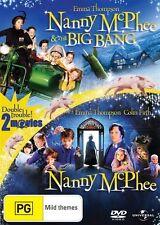 Nanny Mcphee / Nanny Mcphee And The Big Bang (DVD, 2010, 2-Disc Set)