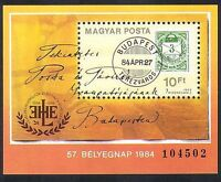 Hungary 1984 Stamp Day/Stamp-on-Stamp/Cover/S-on-S/Philately 1v m/s (n36728)