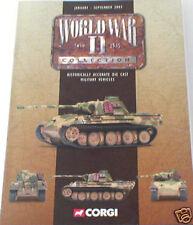 CORGI MILITAIRE WW2 catalogue de janvier à septembre 2003