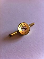 Purdey Shotgun Shell CARTUCCIA Cap Fermacravatta Argilla e Game Shooting-regalo ideale