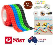 4X LEGO TAPE Compatible Australia Building Blocks Loops Flexible Sticky Bendable