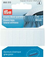 € 1,13/m PRYM banda elástica cruz estable 30mm/1m blanco fuerte
