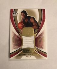 2005-06 SP Game Used Authentic Fabrics GOLD Andre Emmett Jersey AF-AE 65/100