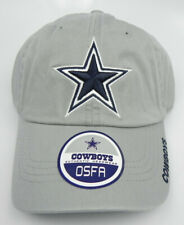 DALLAS COWBOYS NFL GRAY REEBOK OSFA ONE SIZE FITS UNSTRUCTURED LOW CAP HAT NEW!