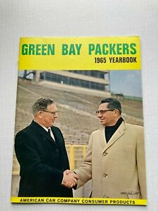 SCARCE 1965 GREEN BAY PACKERS YEARBOOK, CLEAN ESTATE FIND FREE SHIPPING