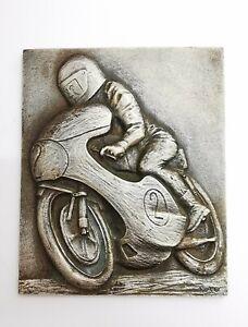 Grande Plaqué Publicitaire Moto Saker-Beru. AD67111
