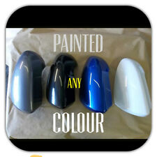 NISSAN QASHQAI  2007-2013 RH OR LH WING MIRROR COVER PAINTED IN A52 FIRED IRON