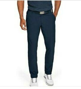Under Armour Men's Golf Pants Vanish Tapered Navy Blue 1309645-408 30X34