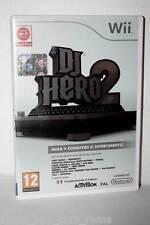 DJ HERO 2 GIOCO USATO COME NUOVO NINTENDO WII & WIIU EDIZIONE ITALIANA NC1