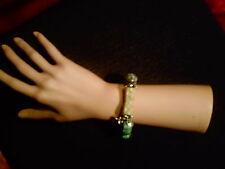 Edelsteinarmband,Bambuskorallen,Türkis,echtes Silber,flexibel,neu ,Unikat