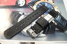 2PC  SPORTS NYLON MILITARY ARMY 18MM WATCH BAND FITS CITIZEN & SEIKO