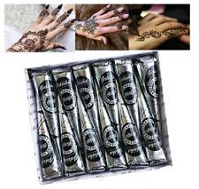 Henna Natural Tattoo Paste Cone Temporary Body Art Mehandi Ink Designs Sticker