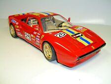 """Bburago Ferrari 288 GTO 1984 Cod.3027 # 25"""" Burago """"Gold Rims 1:18"""
