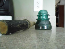 Antique Hemingray #42 Insulator & Post