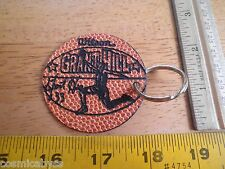 Grant Hill Wilson leather patch keychain VINTAGE