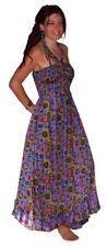 Mehrfarbige S Damenkleider aus Baumwolle