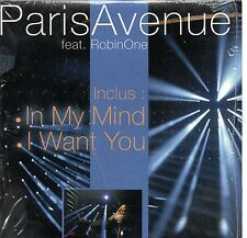 Paris AvenueFeat.Robin OneIn my mind   I want you 2-track CARD SLEEVE