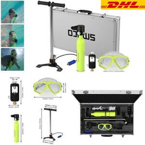 0.5L Smaco Diving Mini Scuba Cylinder Sauerstoffflasche Unterwasseratemgerät Set