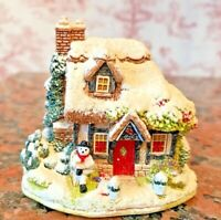 """VINTAGE LILLIPUT LANE: """"SNOW STORIES"""" (2000) - BOXED WITH DEEDS"""