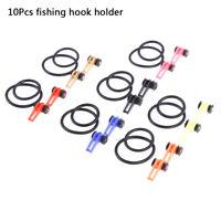 10 Pcs Plastic Keeper Fishing Hook Holder Fishing Safety Fishhook Tac JR