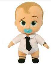 "Boss Baby Talking Diaper Plush 12"""
