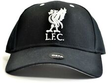 Official Liverpool FC  Baseball Cap  Black  Crested   FREE (UK) P+P