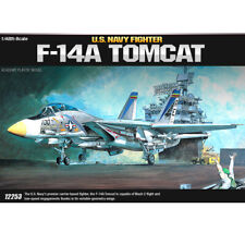 Academy 1/48 U.S.Navy Fighter F-14A TOMCAT  Plastic Model Kit Airplanes # 12253