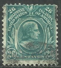 U.S. Possession Philippines stamp scott 269 - 26 cent issue of 1911 - #2