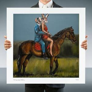 GILLIE AND MARC | Giclee Print | Ltd Edition | Direct from Artist | Rhino Travel