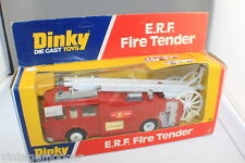 Dinky Toys 266 E.R.F. Fire Tender Made by Meccano UK 1978
