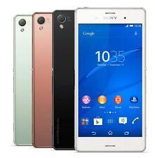 "Unlocked New Original Sony Xperia Z3 D6603 16GB 5.2"" 20.7MP GPS Smartphone White"