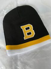 Boston Bruins Black Dog beanie BLACK FRIDAY EXCLUSIVE Hat New