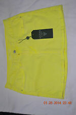 guess juniors NWT size 29 yellow skirt