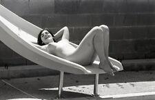 1960s Ron Vogel Negative, buxom nude brunette pin-up girl Lana Rodgers, t217258