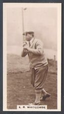 MILLHOFF-FAMOUS GOLFERS GOLF-#27- E. R. WHITCOMBE