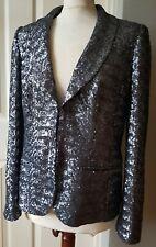 Boden sparkly sequin blazer  jacket 12