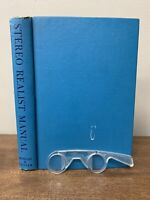 Vintage Stereo Realist Manual (1st Edition, 1954) Hardcover Book with Glasses