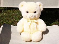 "RARE VINTAGE GUND- BUTTER YELLOW- KARITAS TENDER TEDDY BEAR- 13""- #5612- 1983"