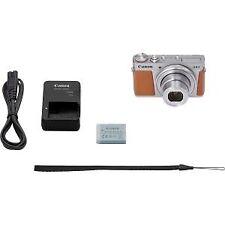 Cámaras digitales plata Canon PowerShot