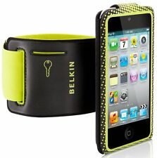 iPod Touch 4G Armband Belkin ProFit Convertible Black Yellow Sleeve Cover Case