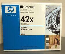 ORIGINAL HP42X / Q5942X BLACK TONER CARTRIDGE