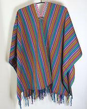Mexicaner Poncho Umhang Damen Herren Weste Inka Mexico bunt NEU
