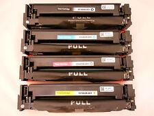 CF400X 401X 402X CF403X Toner Cartridge for HP LaserJet Pro M252dw MFP277dw 4PK