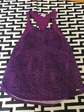 #25 Nike Womens Small Mesh Tank Purple Excellent Condition