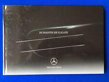 Prospekt Brochure Mercedes SL-Klasse R230 SL350 SL500 SL600 SL55 SL 55 AMG 0803