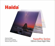 Haida Clear-Night NanoPro 150mm MC Optical Glass Filter Light Pollution 150
